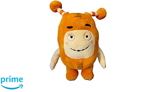 Oddbods Large 30cm Plush Soft Cuddly Toy Newt Bubbles Pogo Zee Jeff Fuse Slick (Orange) ...: Amazon.es: Juguetes y juegos
