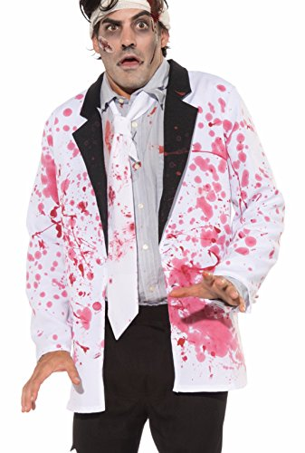 Forum Novelties Men's Blood Boutique Bloody Formal Costume Jacket, Multi, -