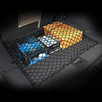 AndyGo Floor /Envelope Style Car Trunk Cargo Net Fit For Jeep Liberty Patriot Wrangler Commander Compass Grand Cherokee