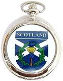 Chardon écossais montre de poche sur une Chaîne 30,5cm