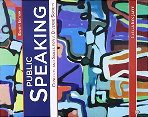 bundle public speaking concepts and skills for a diverse society loose leaf version 8th mindtap speech 1 term 6 months printed access card