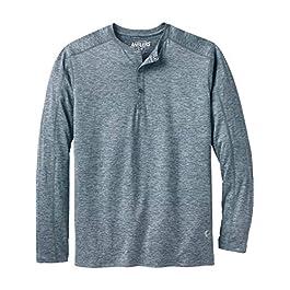 Men's  Henley Shirt Long Sleeve