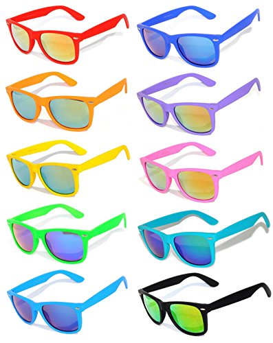 Vintage Sunglasses Colorful Mirror Pairs product image