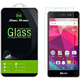 [2-Pack] BLU Life One X 4G LTE (2016) Screen Protector, Dmax Armor [Tempered Glass] 0.3mm 9H Hardness, Anti-Scratch, Anti-Fingerprint, Bubble Free, Ultra-clear