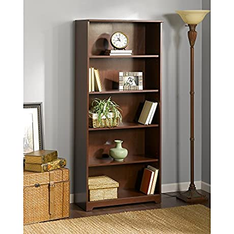 Cabot 5 Shelf Bookcase