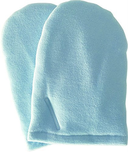 Efalock Frottehandschuhe, blau, 1er Pack (1 x 2 Stück)