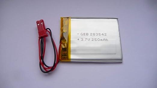 2X Lipo Akku 250mAh 1s 3,7V JST-PH Stecker Empf/änger Sender Drohne RC Quadrocopter Uhr 502030 522030 VXI BlueParrott B250-XT B250-XT Bluetooth Headset Video Cam 808 Baby Monitor