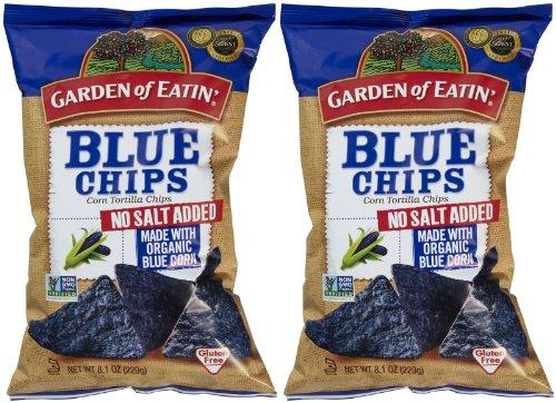 e Chips, No Salt, 8.1 oz, 2 pk ()
