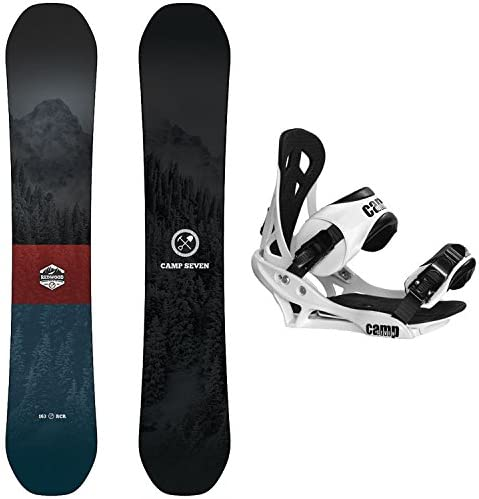 Camp Seven Redwood and Summit Men s Snowboard Package New 2020