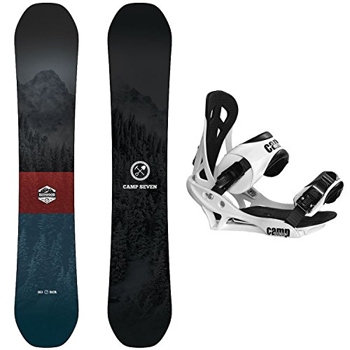 Camp Seven Redwood and Summit Men's Snowboard Package New 2020