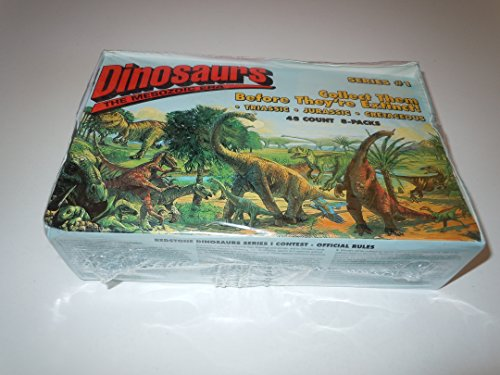 Dinosaurs the Mesozoic Era - Series #1 - Trading Card Box by Redstone Marketing