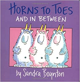 Amazon.com: Horns to Toes and in Between (9780671493196): Sandra Boynton: Books