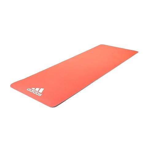 adidas ADYG-10600RDFL Esterilla Yoga, Unisex, Rojo Flash, 6 mm
