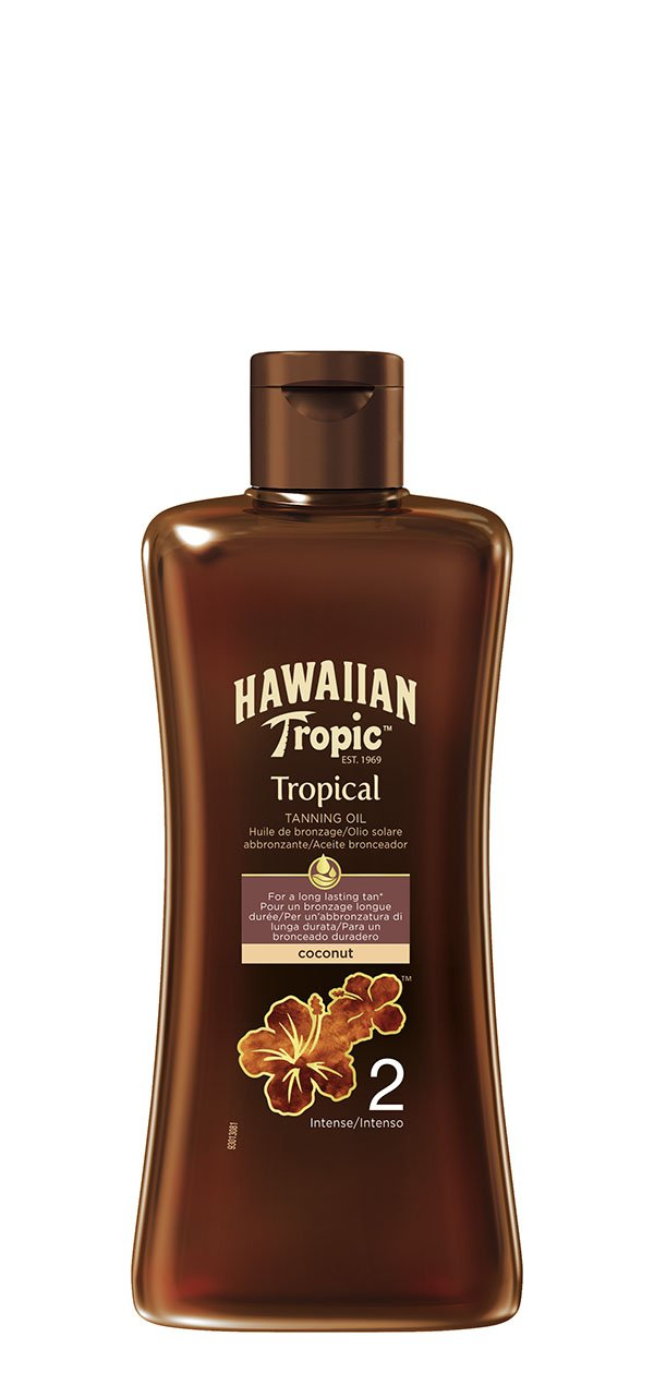 Hawaiian Tropic Tanning Oil Intense SPF 2 200 ml Energizer Group Y00538K0