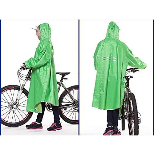 Impermeabile colore Dell'auto Poncho L'ispessimento B Per A Aumentare Elettrica Hyuyi pqv560xwv