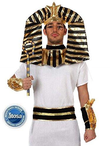Atosa 10124 - Costume da faraone egizio Uomo 689c32dc985
