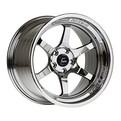 Cosmis Racing XT-006R 18x11 +8mm 5x114.3 Black Chrome Rim Wheel