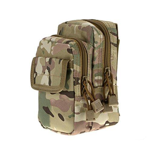 Waist Pack Tasche, livecity Tactical tragbar Camouflage Tasche Gürtel Military Handy Tasche CP Camouflage