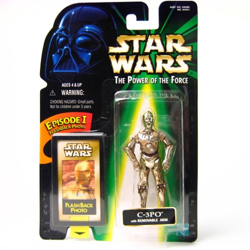 (Star Wars: Power of The Force Flashback and gt; C-3PO Action Figure)