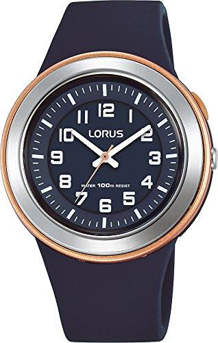 Lorus Reloj Analogico para Unisex de Cuarzo con Correa en Silicona R2305MX9: Amazon.es: Relojes