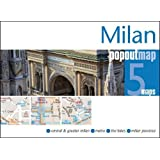 Milan Popout Map - handy pocket size pop up city map of Milan (Popout Maps)