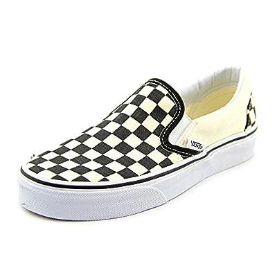 Vans Slip-On(TM) Core Classics (6.5 D(M) US, Black and White Checker/White)