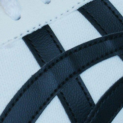 White Sneaker Unisex D317N Asics Erwachsene wBCzzO