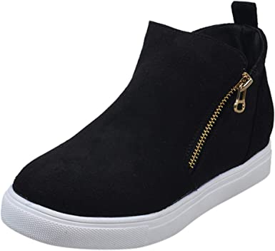 Women's Casual Short Boots,Ladies Solid