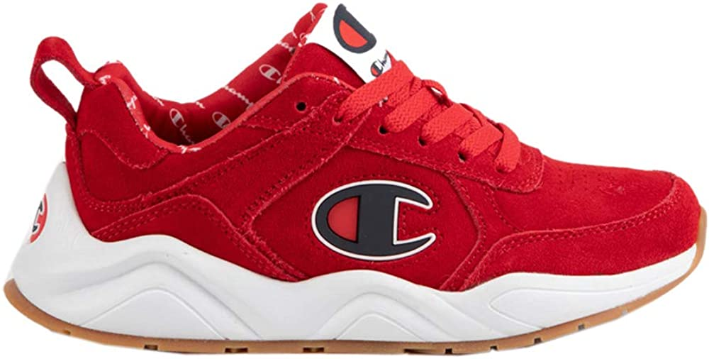 Champion Boys 93Eighteen Big C Leather Sneaker