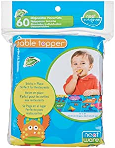 Neat Solutions Neat-Ware Table Topper 60 Count