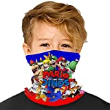 Ma-Rio and So-nic Seamless Face Cover Mouth Mask