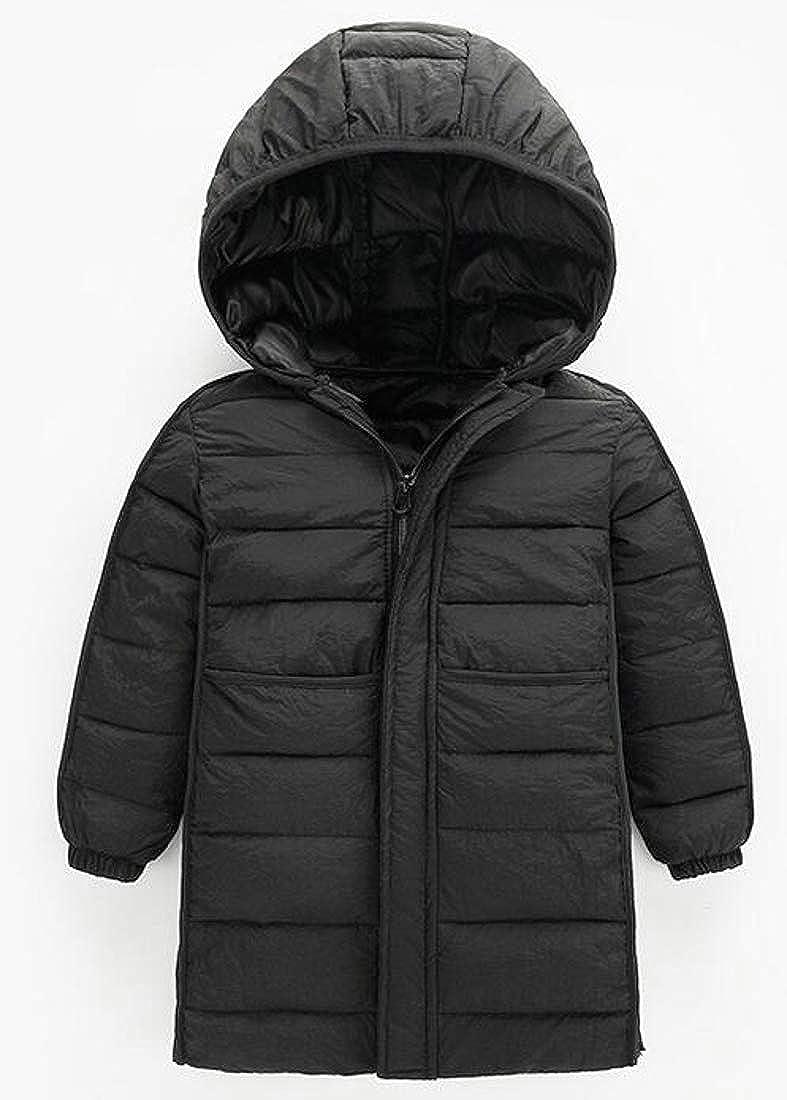 Joe Wenko Girl Cute Thick Hoodie Lightweigth Down Coat Parkas Jacket