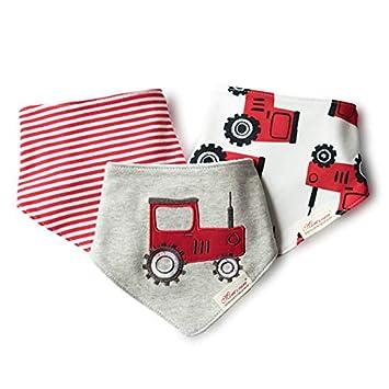 Macxy - Toalla 3pcs / Lot recién Nacidos de algodón Baberos para ...