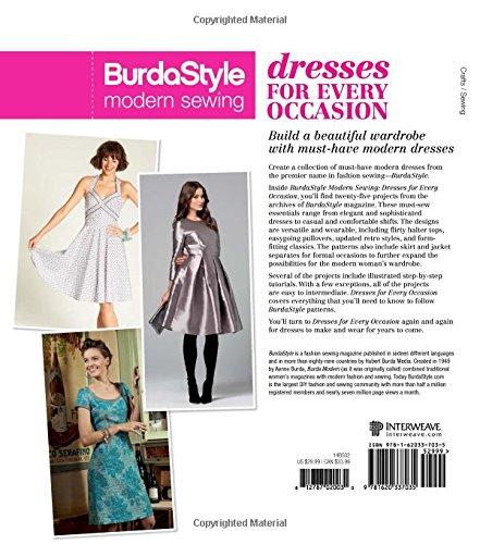BurdaStyle Modern Sewing - Dresses For Every Occasion: BurdaStyle ...