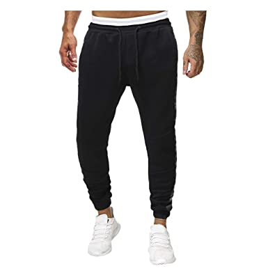 JMETRIC - Pantalón de Jogging Informal con Cintura elástica ...