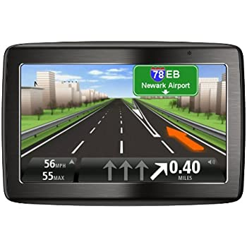 Tomtom Via Tm  Inch Bluetooth Gps Navigator With Lifetime Traffic Maps And Voice Recognition