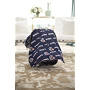 Carseat Canopy (NFL New England Patriots) Baby Infant Car Seat Cover