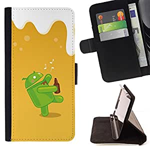 Momo Phone Case / Flip Funda de Cuero Case Cover - Dunk Android;;;;;;;; - Samsung Galaxy S6 EDGE