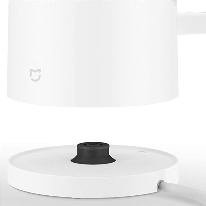 Dooret Protección Xiaomi Mi Hervidor eléctrico 304 de Acero Inoxidable DE 1,5 l 12 Horas Termostato Caldera del teléfono móvil de Aplicaciones de Control de ...