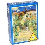 ミニジグソーパズル クロード・モネ 「ヴェトゥイユのモネの庭」