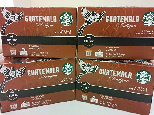 Starbucks Guatemala Antigua K-cups (48 Count) (Guatemala K Cup Coffee)