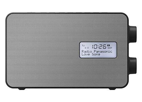 Panasonic RF-D30BTEG-K Radio numérique Bluetooth (Dab+, UKW, réseau et Piles, Protection Contre Les Projections d'eau, AUX, Fonction réveil de Cuisine (Noir)
