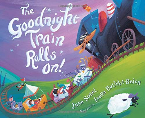 The Goodnight Train Rolls On! by HMH Books for Young Readers (Image #2)
