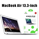 Image of LENTION Clear Screen Protector for MacBook Air 13-inch Anti-scratch Hydrophobic Oleophobic Crystal HD Protective Film