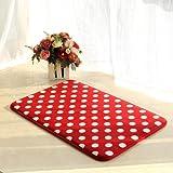 Slow rebound memory foam mats bathroom rug mat kitchen absorbent bath mat door mat -40*60cm k