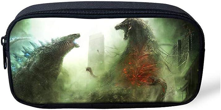 Estuche de Gran Capacidad para lápices de Godzilla, para la Escuela Media, la Oficina, la Universidad, la niña, para Adultos, Gran Capacidad de Almacenamiento Godzilla-4 22x11x5cm: Amazon.es: Equipaje