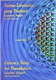 Textos Literarios para Traducir, Anglo-Didactica Linguistics Group, 8486623790