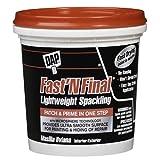 Tools & Hardware : Dap 12140 Fast N Final Interior Exterior Spackle, 1/2-Pint