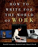 How to Write for the World of Work 7th Edition