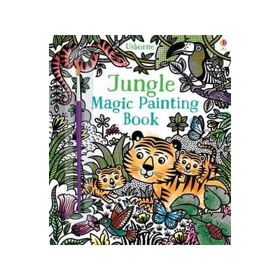 Usborne Books Jungle Magic Painting Book: Toys & Games